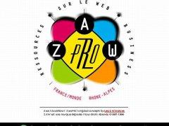 Créateur du WebZine Zaw (1996)