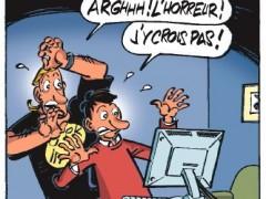 Scénariste sur série de BD humoristique