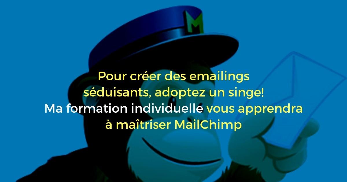 Formation Réaliser des emailings efficaces avec MailChimp (1 jour)