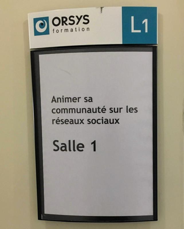 Formations Community Management à Lyon, pour Orsys