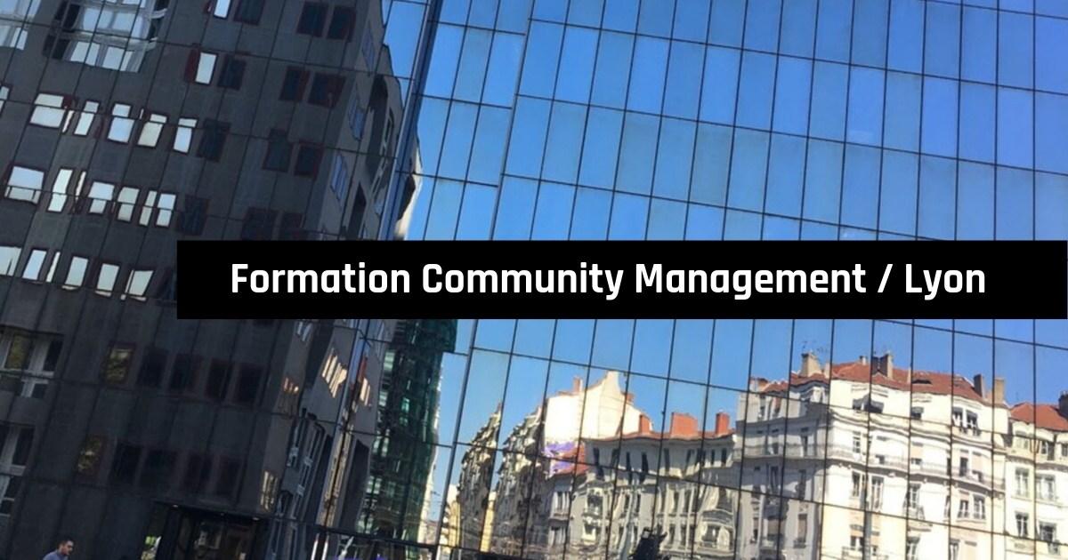 Formation Community Management à Lyon, pour Orsys