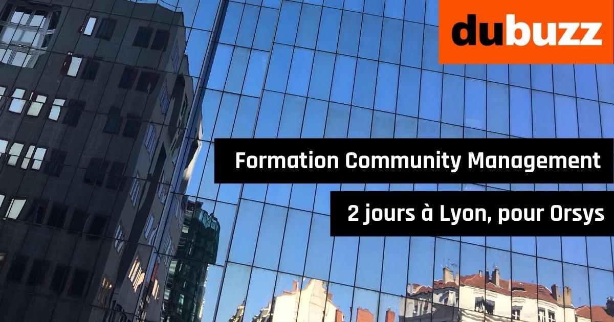 Formation Community Management à Lyon pour Orsys