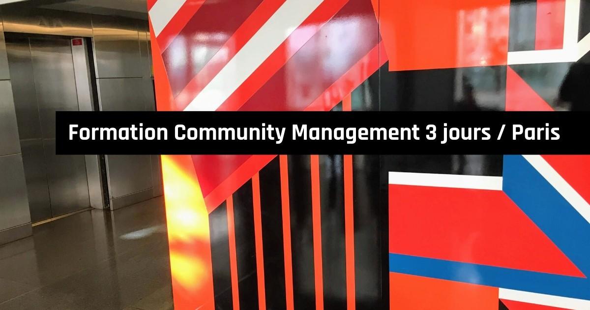 Formation Community Management 3 jours à Paris, pour Orsys
