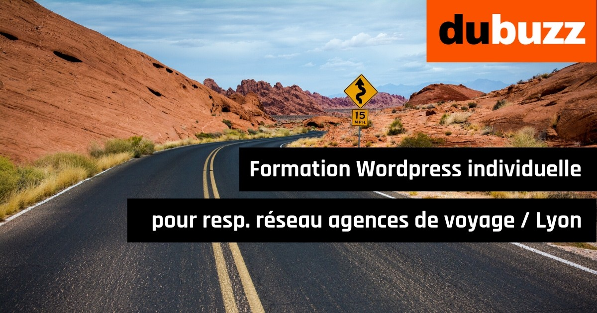 formation wordpress individuelle à Lyon