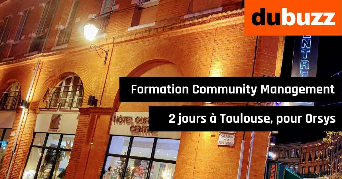 Formation Community Management 2 jours à Toulouse pour Orsys