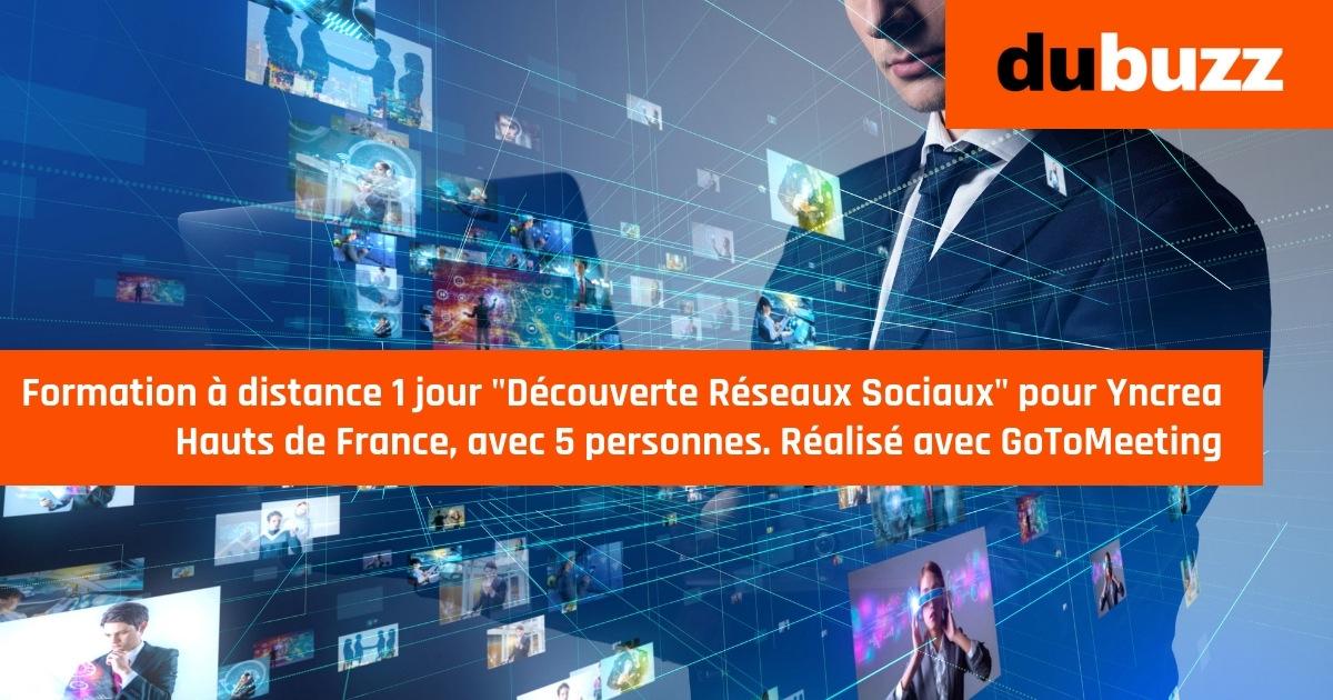 formation à distance réseaux sociaux pour Yncrea Hauts de France