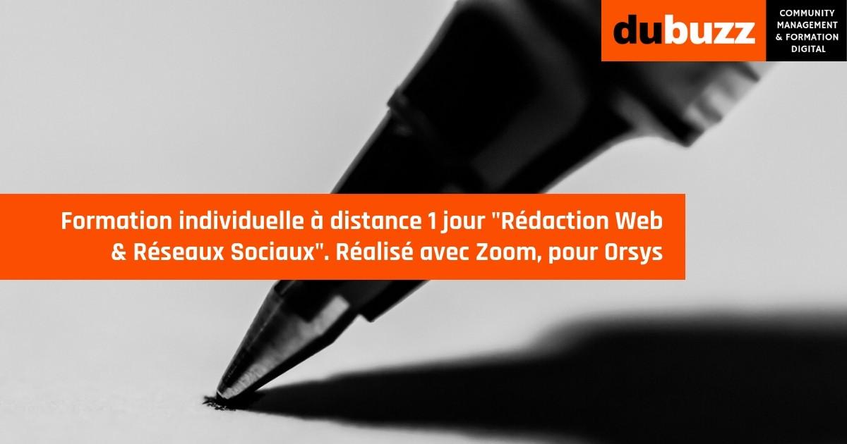 formation à distance rédaction web