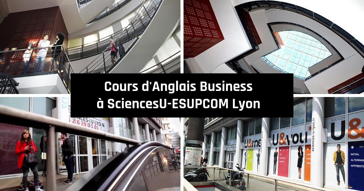 Cours d'anglais business à SciencesU-ESUPCOM Lyon
